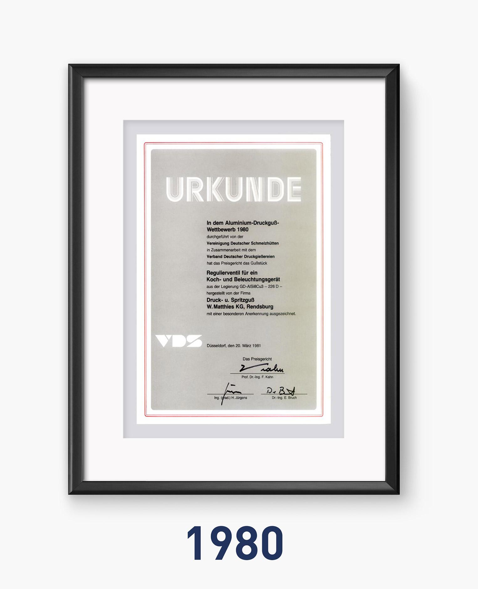 1980 - Qualität