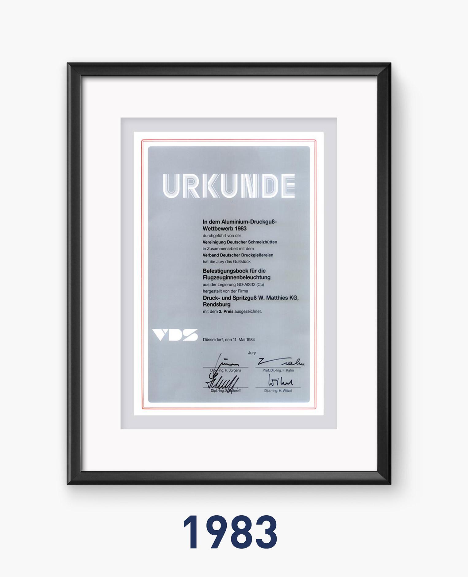 1983 - Qualität