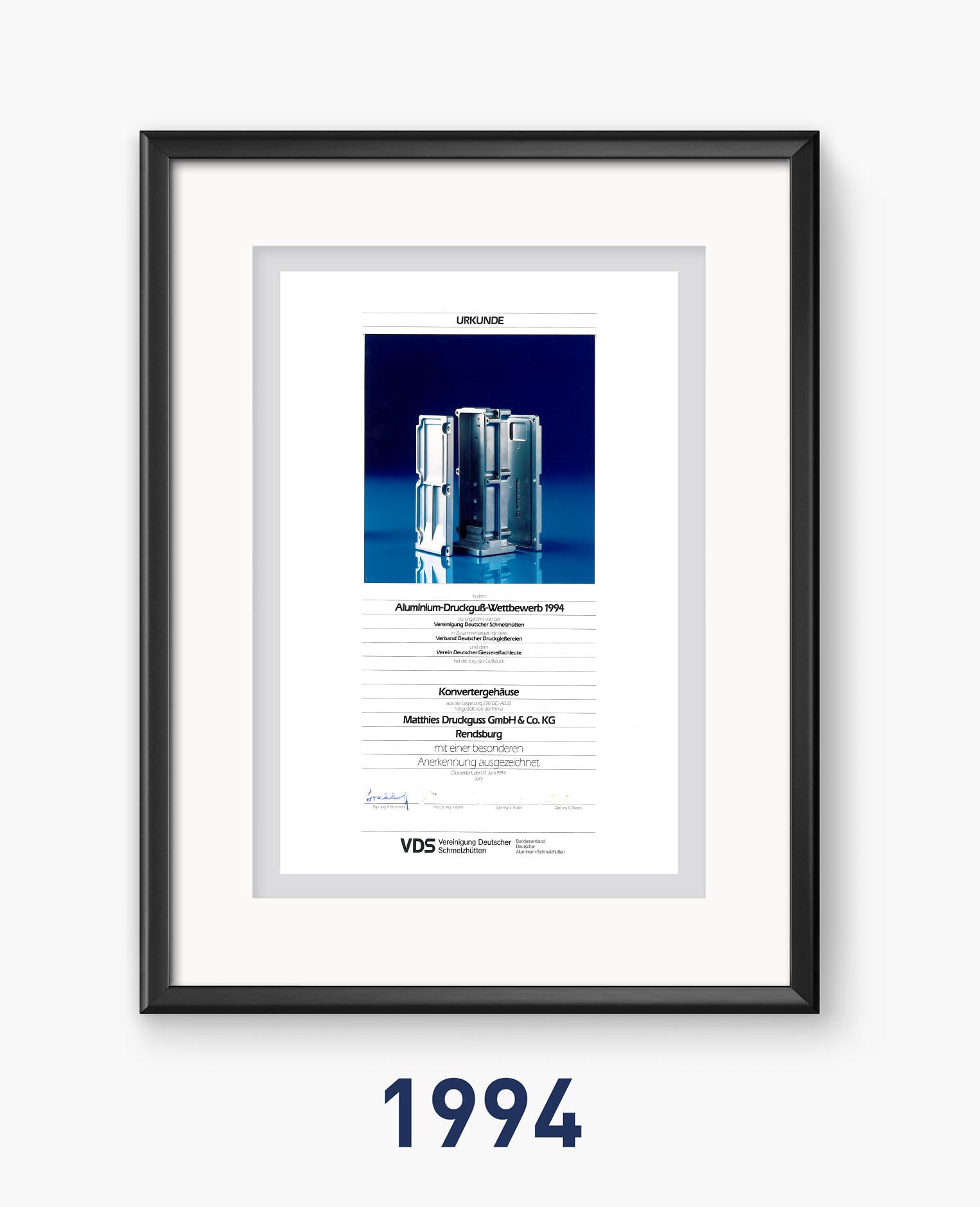 1994 - Qualität