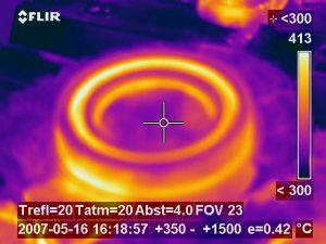 Erweiterung des Bereichs Gießoptimierung durch Wärmebildkamera