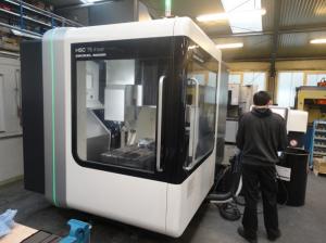 Investition in weitere CNC-Fräsmaschinen im Bereich Werkzeugbau (DMG HCS 75 linear, DMG DMU 50 eVo)