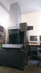 Erweiterung der Messtechnik durch kameragestützte CNC Koordinatenmessmaschine