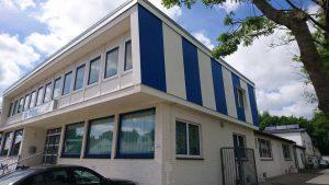 Modernisierung Dach und Außenfassade Verwaltungsgebäude